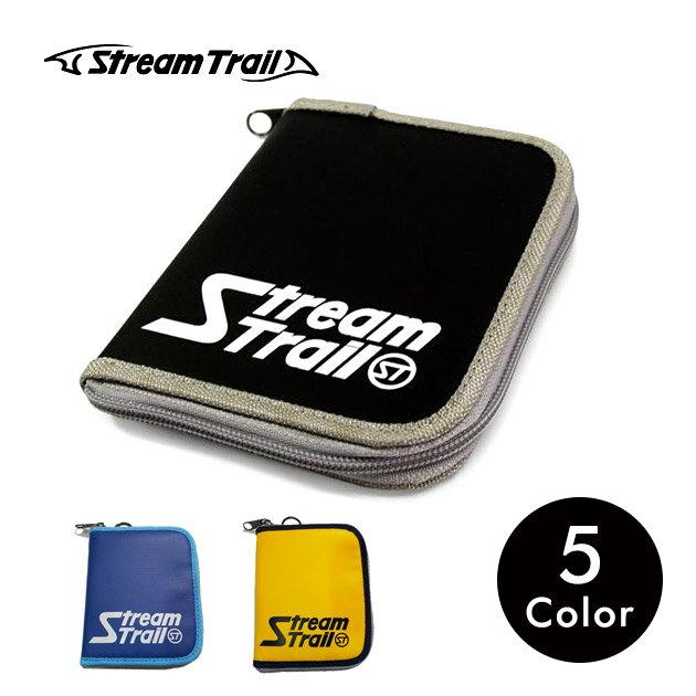 財布 二つ折り アウトドア スポーツ ナイロン 軽量 カード ラウンドファスナー メンズ レディース ストリームトレイル Stream Trail