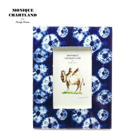 フォトフレーム 木製 アンティーク おしゃれ インテリア雑貨 レトロ 壁掛け 写真立て プレゼント ギフト 贈り物 母の日 ブルー 青 はがき ハガキサイズ KG判 Goody Grams PHOTO FRAME INDIGO A