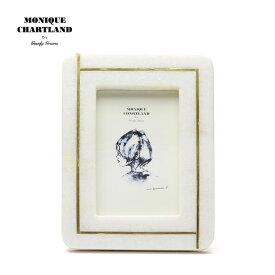 フォトフレーム 大理石 真鍮 アンティーク おしゃれ インテリア雑貨 写真立て レトロ 壁掛け 卓上 かわいい ホワイト 白 プレゼント ギフト 結婚祝い 贈り物 母の日 Goody Grams PHOTO FRAME-STONE JALMAHAL