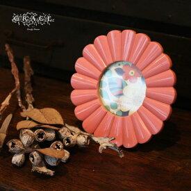 フォトフレーム アンティーク 壁掛け 花 フラワー ミニ 小さい レトロ ミッドセンチュリー かわいい おしゃれ 写真立て プレゼント ギフト 誕生日 彼女 母の日 Goody Grams GRACE PHOTO FRAME CHERRYBLOSSOM