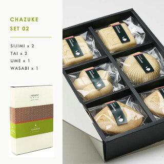 【6個セット】MAMCAFE/MAMCHAZUKESET02お茶漬け最中6個セット詰め合わせもなかモナカ高級国産インスタントMAMCAFEマムカフェ