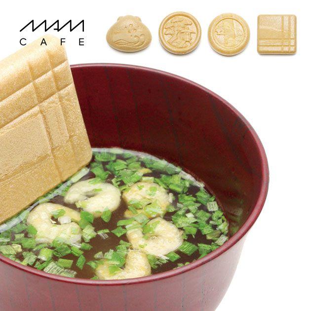 【6個セット】MAM CAFE / MAM OSUIMONO SET 02 お吸い物最中 6個セット 詰め合わせ 最中 国産 インスタントスープ MAMCAFE マムカフェ 手土産 おしゃれ 日持ち 年末年始 ご挨拶 ギフト プレゼント