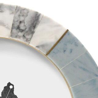 フォトフレーム丸円形写真立て大理石風モダンおしゃれマーブルGoodyGramsPHOTOFRAMEBAASU