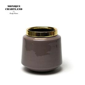 MONIQUE CHARTLAND / ENAMEL VASE 05 卓上 ゴミ箱 ごみ箱 ミニ 小さい 小型 テーブル ドライフラワー用 フラワーベース 枝物 置物 オブジェ ドライフラワー インテリア モダン おしゃれ かわいい 金属 インテリア雑貨 割れない