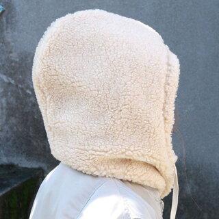 ネックウォーマーおしゃれフーディーフードメンズレディースボアボタンスナップボタンブラックモカベージュ黒茶色男性女性防寒具あったかグッズ首冬プレゼント彼氏GOOUTBOAFOODIE