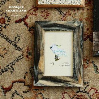 フォトフレームハガキサイズハガキ葉書壁掛け写真立てアンティークおしゃれかわいい横記念日プレゼント贈り物ギフトインテリア雑貨トイレ玄関オブジェ置物GoodygramsYASH