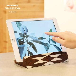 iPadスタンド木製縦置きおしゃれタブレット立てかけWOODIPADSTANDGoodyGrams