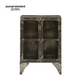 ジャーナルスタンダードファニチャー journal standard Furniture GUIDEL MESH LOCKER LOW ギデル メッシュロッカー ロー 幅67×高さ93cm 鉄製 アイアン 什器 おしゃれ 収納 店舗 ショップ 事務所 アパレル 送料無料