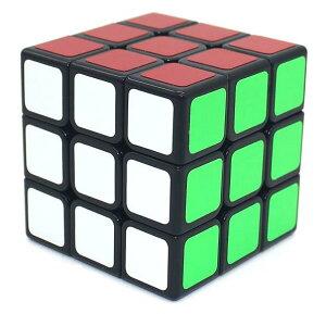 【正規販売店】スピードキューブ 競技用 3×3×3 世界基準配色 スムーズ回転 競技専用 ルービックスピードキューブ 立体パズル ブラック 競技入門 キューブ ルービックキューブ おすすめ な