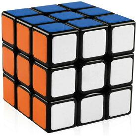 【正規販売店】スピードキューブ 競技用 3×3×3 世界基準配色 スムーズ回転 競技専用 ルービックスピードキューブ 競技入門 キューブ ルービックキューブ 立体パズル ブラック おすすめ なめらか 公式 安い