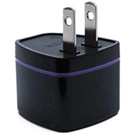 全世界対応マルチ変換プラグA型(海外電化製品を日本で利用) A,BF, SE,C, B3, O,B, コンセント変換アダプター b3プラグのa変換 変換プラグa型 コンセント変換プラグo a 世界のコンセントを日本仕様に変換(ブラック)