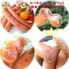 To the assorted a simple gift sausages year-end present to sort with approximately 850 g of sausage shop four kinds 4 packs of the ham sausage