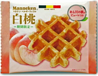 【【マネケン】白桃ワッフル30個入り】