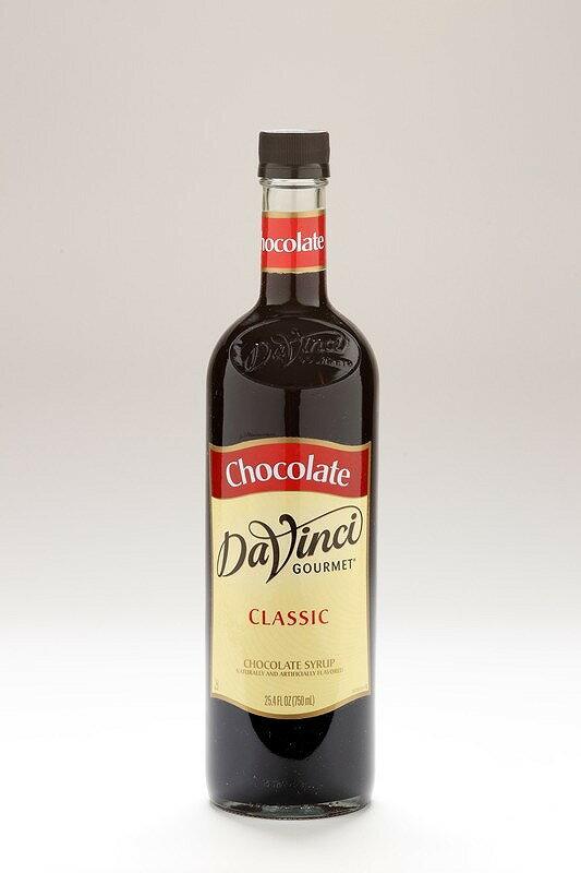 【ダヴィンチ】フレーバーシロップ チョコレート750ml