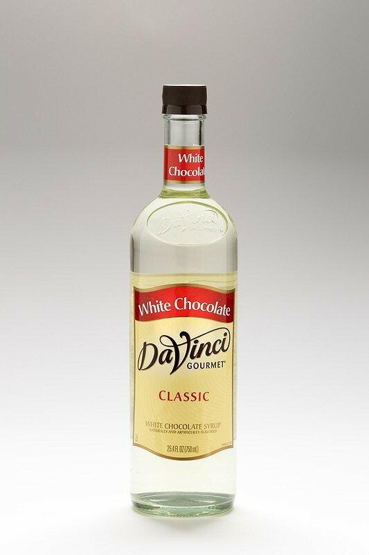 【ダヴィンチ】フレーバーシロップホワイトチョコレート 750ml