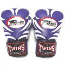TWINS SPECIAL ボクシンググローブ 8oz T紫/ボクシング/ムエタイ/グローブ/キック/フィットネス/本革製/8オンス