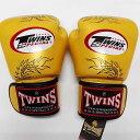 TWINS SPECIAL ボクシンググローブ 16oz 龍金 /ボクシング/ムエタイ/グローブ/キック/フィットネス/本革製/ツインズ