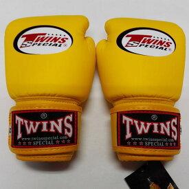 77b2644f8b91b 子供用 TWINS SPECIAL ボクシンググローブ 黄 /ボクシング/ムエタイ/グローブ/キック/