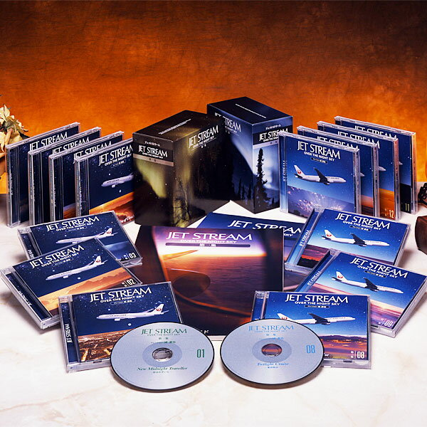 ジェットストリーム OVER THE NIGHT SKY CD全14巻(第一集+第ニ集)【一括払い】