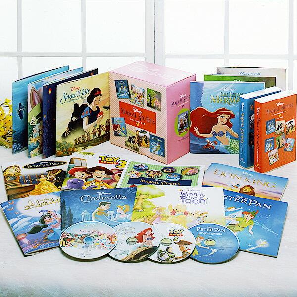 ディズニー・マジカル・ストーリーズ CD15巻+絵本15冊【一括払い】