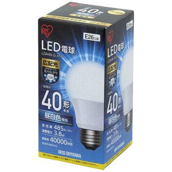 LED電球E26広配光タイプ40W形相当LDA4N-G-4T4アイリスオーヤマ