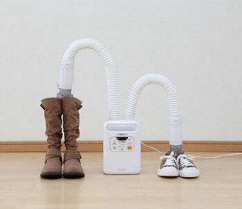 布団乾燥機アイリスオーヤマツインノズルカラリエ乾燥機アイリスオーヤマFK-W1布団乾燥機アイリスツインノズル布団乾燥乾燥機衣類乾燥機湿気ダニカビ靴乾燥マット不要湿気対策季節家電人気