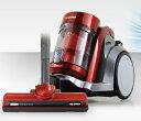 掃除機 アイリスオーヤマ サイクロン式掃除機 サイクロン サイクロン式 アイリス サイクロン掃除機 2WAY サイクロンクリーナー IC-C100TYF-R キャニスター アイリスオーヤマ タービンヘッド クリーナー キャニスター掃除機 軽量 レッド