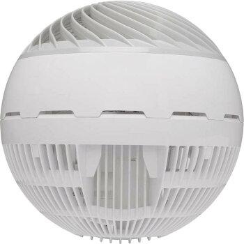 サーキュレータアイリスオーヤマ小型サーキュレーターアイDCJET15cmホワイトPCF-SDC15T送料無料ボール型左右首振り扇風機冷房送風静音省エネ首ふり空気循環部屋干し涼しい風暖房循環コンパクト