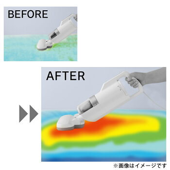 布団クリーナーIC-FAC2アイリスオーヤマコード付き超吸引クリーナークリーナー布団掃除機掃除機布団UV花粉梅雨湿気ダニアイリス温風ハンディハウスダスト掃除清掃おすすめふとんクリーナーシルバー