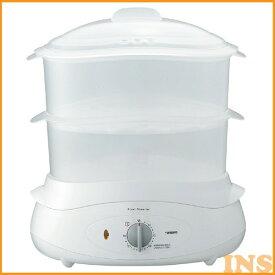 フードスチーマー ツインバード〔TWINBIRD〕フードスチーマー SP-4138W 蒸し料理 蒸し器 蒸す 温野菜 フードスチーマー