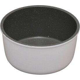 ダイヤモンドコートパン 鍋 16cm IH対応 ISN-P16 ホワイト&マーブル KITCHEN CHEF フライパン 鍋 キッチンシェフ セット コーティング ダイヤモンドコート ダイヤモンドコーティング 焦げ付かない IH IH対応 アイリスオーヤマ