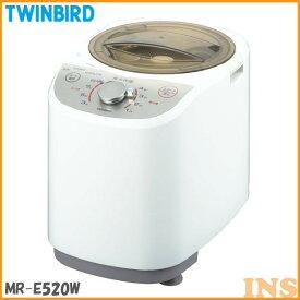 精米機 ツインバード〔TWINBIRD〕 精米器精米御膳 MR-E520W ホワイト 精米機 4合 安全