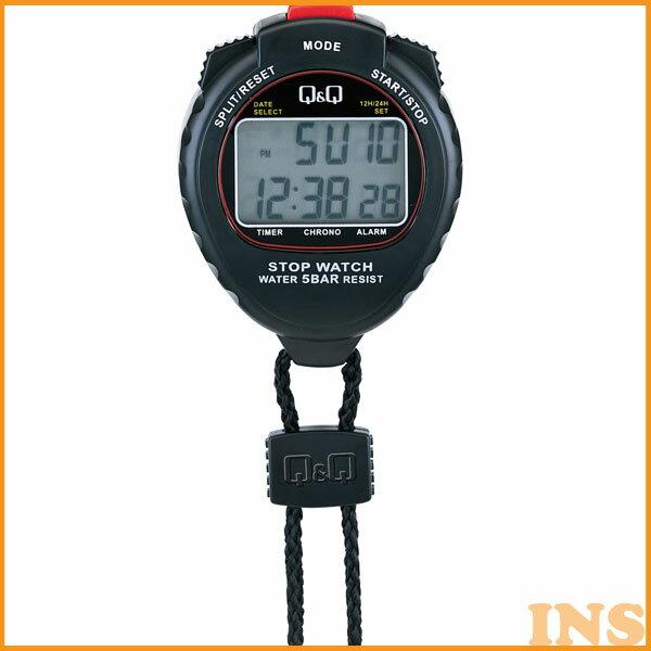 (ストップウォッチ シチズン)Q&Q(計測 測定 タイムキーパー スポーツ)CITIZEN HS44-001