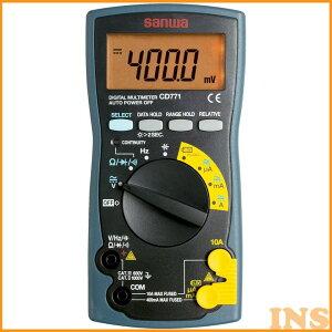 デジタルマルチメータ CD-771P計測器 SANWA 電圧 電流 計測器 計測器電圧 電流 SANWA 計測器 電圧 電流計測器 SANWA 三和電気計器