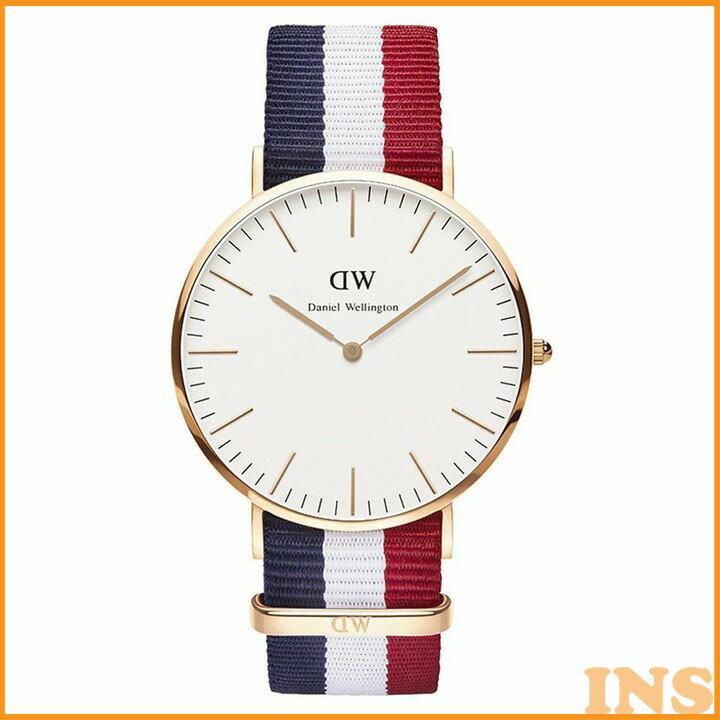 ≪送料無料≫Daniel Wellington 40mm Rose Gold Classic Cambridge 0103DW 時計 腕時計 アナログ メンズ ダニエルウエリントン