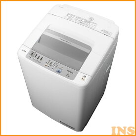 洗濯機 8kg 日立 一人暮らし 全自動洗濯機 NW-R803 W 小型 コンパクト 新生活 家電 おしゃれ家電 シャワー浸透洗浄 風乾燥 ほぐし脱水 お手入れ簡単【D】