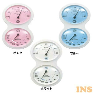 温湿度計 TT-509-PK温度計 湿度計 目盛型 表示独立 アナログ TANITA キッチン リビング 子供部屋 TANITA ピンク ブルー ホワイト【D】