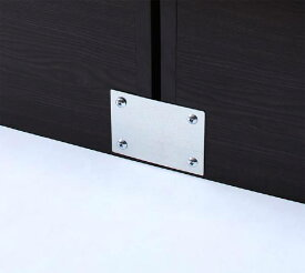 【送料無料】(UF)親子で寝られる棚・コンセント付きレザー連結ベッド Familiena ファミリーナ 専用付属品(連結用金具) (UF1)