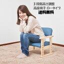 【お買い物マラソンで使える2,000円OFFクーポン】 高座椅子 ロータイプ 3段階調節 (UF1)