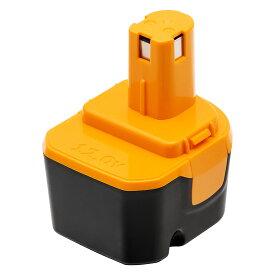リョービ バッテリー リョービ B-1203F2 12V 3.0Ah リョービ互換バッテリー B-1203 1203C B-1203F3 B-1203M1 BPL-1220 B-8286 BPT1025 RY-1204リョービ12vバッテリー 電池パック 互換バッテリー ニッケル水素電池