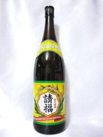 【請福酒造所】直火請福 30度 1800ml (一升瓶)