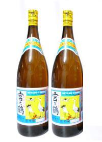 【仲間酒造所】宮の鶴 30度 1800ml(1升瓶) 茶瓶 2本セット