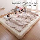 (UL) 豊富な6サイズ展開 厚さが選べる 寝心地も満足なひろびろファミリーマットレス シングル 厚さ12cm(UL1)