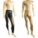 メンズパンスト 男性用ストッキング パンスト ポーチ付き 厚手のレギンスタイプ 80デニール メンズストッキング メンズランジェリー メンズタイツ