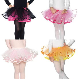 Leg Avenue(レッグアベニュー) リバーシブルで穿けるチュチュ (キッズ用コスチューム 子供の衣装) パニエ/ペチコート ハロウィングッズ 子供用コスチューム コスプレ スカートのボリュームアップに LG-C4899
