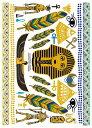タトゥーシール リアルなフェイクタトゥー エジプト柄 コスプレ ハロウィン ボディペイント 腕 足 背中など 好きな所…