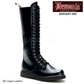DEMONIA(デモニア) パンク/ロック系 コンバットブーツ ワークブーツ Men's/Unisex◆DEFIANT-400◆取り寄せ