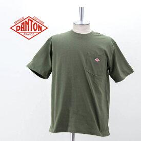DANTON ダントン メンズ ポケットTシャツ[JD-9041]【BASIC】