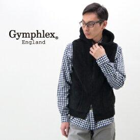 Gymphlex ジムフレックス メンズ フリースBOAフードベスト ソリッド[J-0855PL]【BASIC】