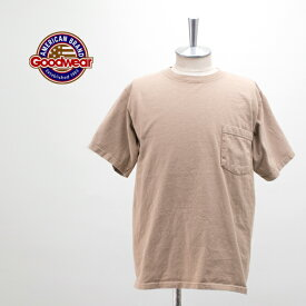 Goodwear グッドウェアー メンズ ポケット付きクルーネックTシャツ[GDW-001-191011]【2019SS】